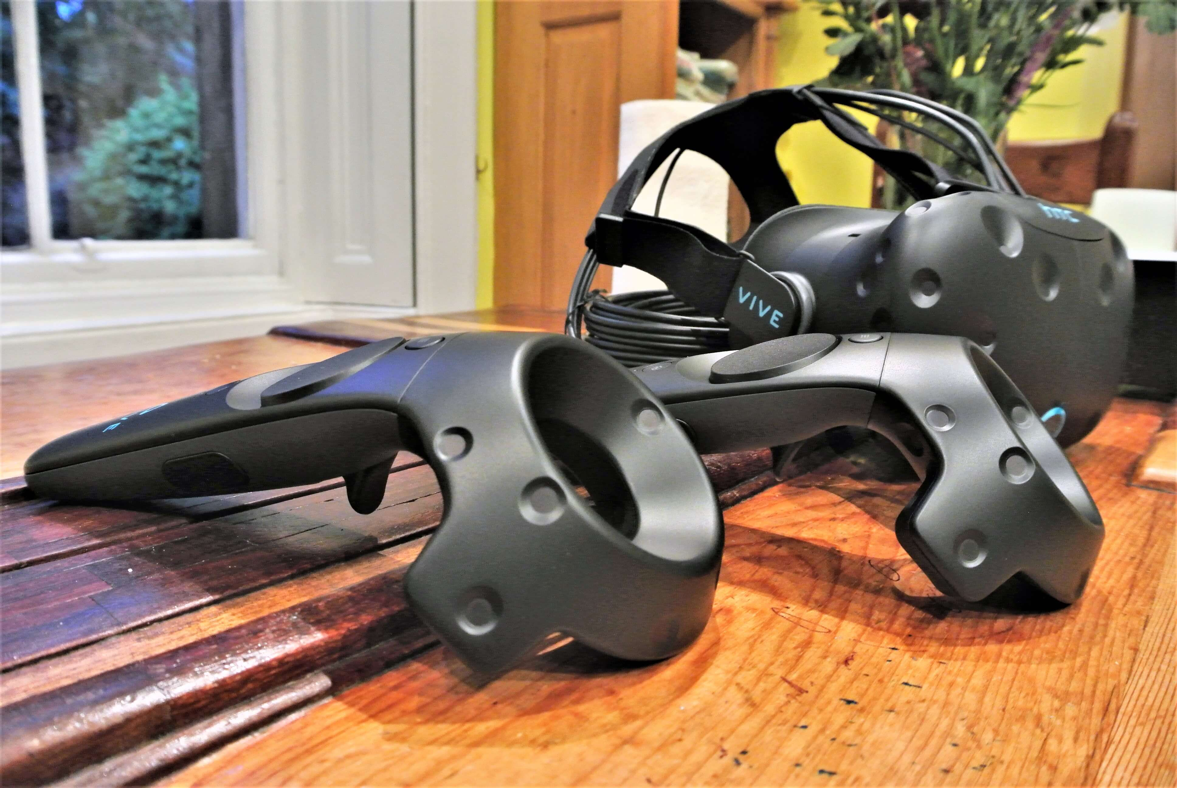 Experience the best VR experience using HTC Vive
